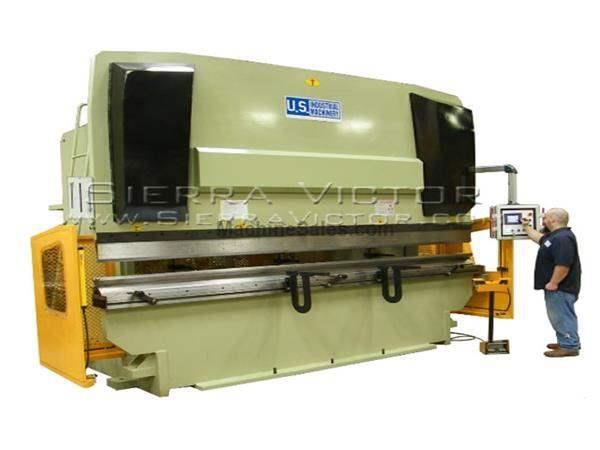 390 Ton x 13' U.S. INDUSTRIAL® CNC Hydraulic Press Brake