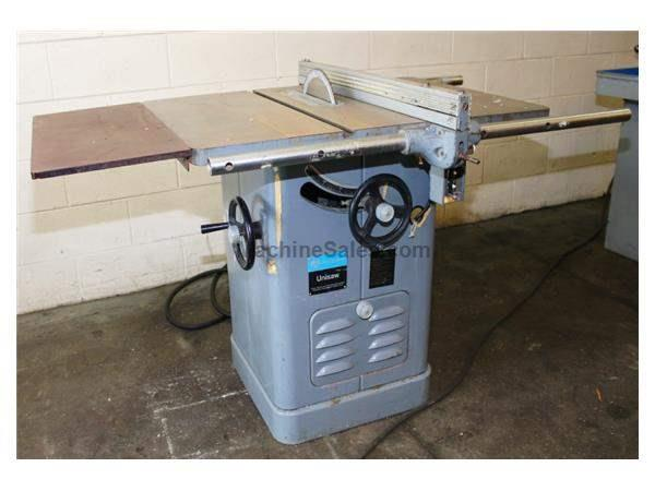 "Rockwell 34-761 UNISAW WOODWORKING, 10"" TABLE SAW"