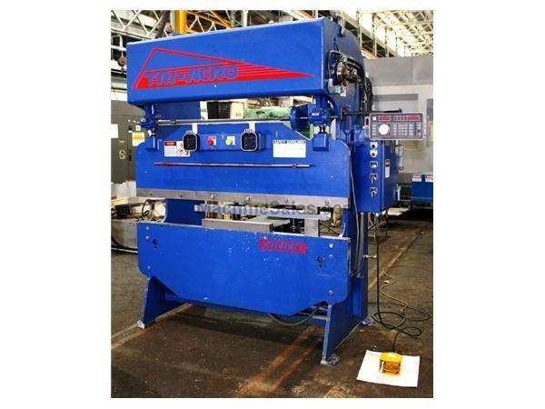 "35 Ton 72"" Bed Pacific Tri-acro 35-6 PRESS BRAKE, Hurco Autobend 5S CNC Back Gauge"