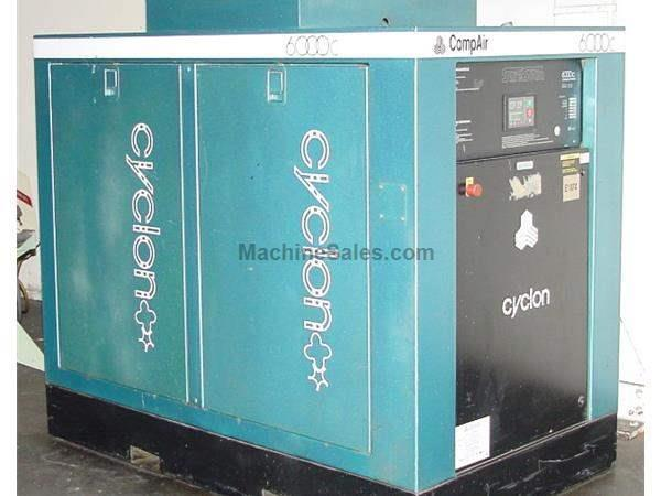 75HP Motor CompAir Hydrovane CYCLON 6000C AIR COMPRESSOR, 75 HP, 575 Volt, Max PSI 125