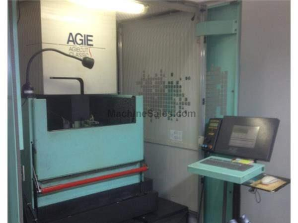 Agie Classic 2S, 2000, Submerged cutting, auto thread