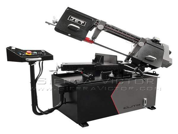 "8"" x 13"" JET® ELITE Mitering Horizontal Band Saw"