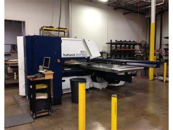 TRUMPF, TRUPUNCH 2020R, CNC TURRET PUNCH NEW: 2010