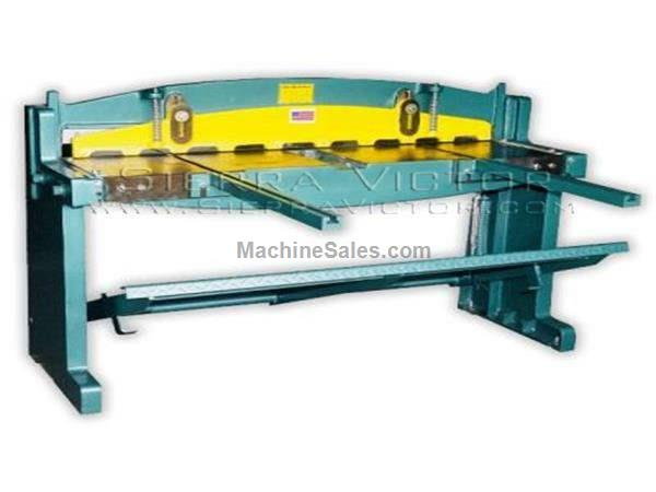"52"" (4') x 16 ga. TIN KNOCKER® Foot Operated Shear"