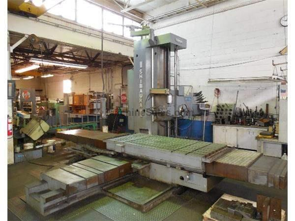 ".1"" TOSHIBA SHIBAURA MODEL BFT-13 W2 TABLE TYPE HORIZONTAL BORING MILL"