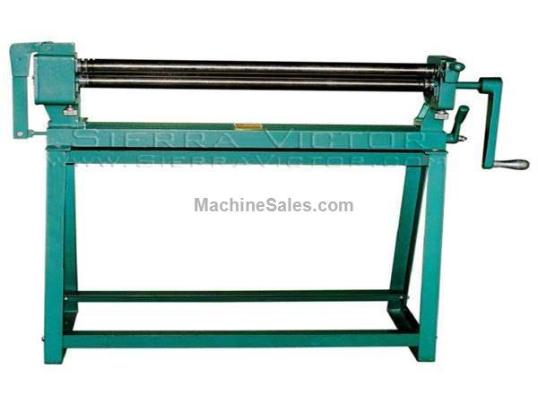 "36"" x 22 ga. TIN KNOCKER® Manual Slip Roll"