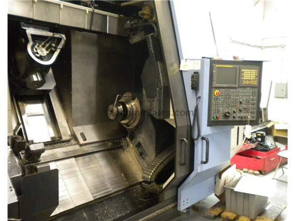 2007 Doosan Puma MX2500ST CNC Turning Center With Live Milling and Sub-Spin