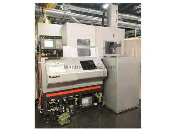 AMADA WASINO G-06 CNC Gang-Type Turning Center with Gantry Robot