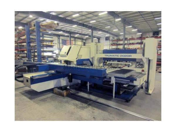 "22 TON TRUMPF, TC2020R BOSCH, 50"" X 100"",AUTOMATIC LOAD/UNLOAD, MFG: 2002"