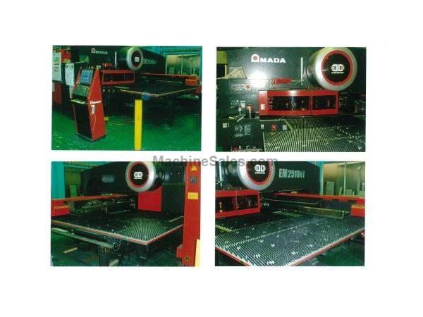 22 Ton, AMADA EM 2510NT, 58 STATION, 2 AUTO INDEX,MFG:2012