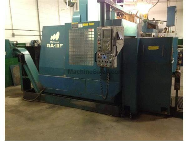 (2) Matsuura RA-IIIF's, Twin Pallets, Under Power