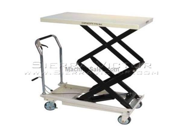 770 lb. Capacity JET® Double Scissor Lift Table