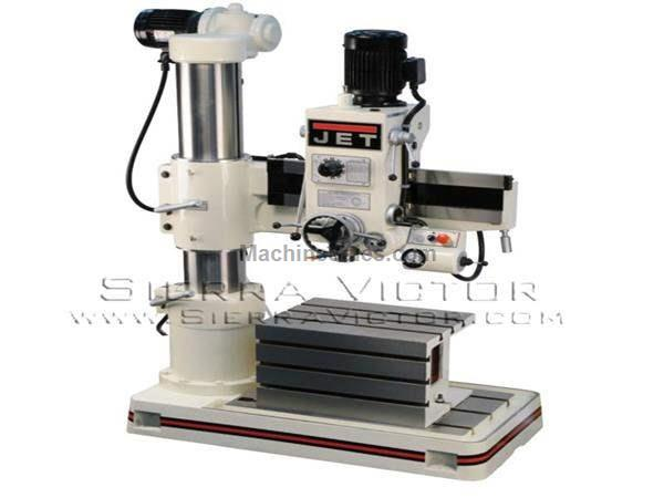 3' JET® Radial Arm Drill Press