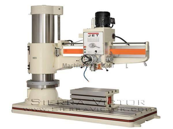 5' JET® Radial Arm Drill Press