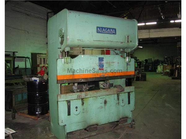 Niagara Press Brake, Model-IB-30-5-6,SN: 36928