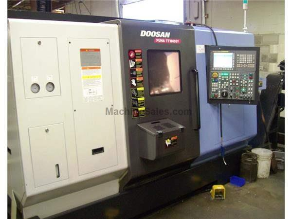 2008  Doosan Infracore Model Puma TT1800SY Turning Center