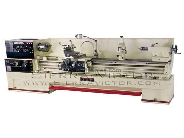 "22"" x 80"" JET® Large Spindle Bore Lathe"