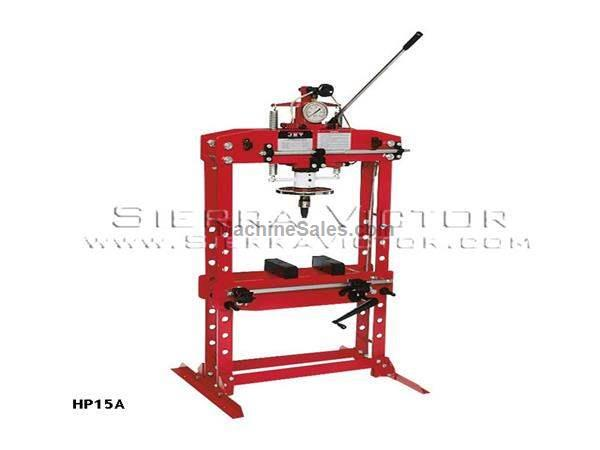 15 Ton JET® Hydraulic Shop Press