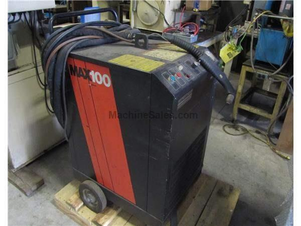 USED HYPERTHERM MAX 100 PLAZMA CUTTING SYSYTEM