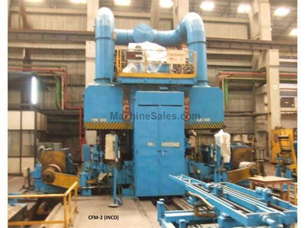 "17"" INCO 4 HI REVERSING MILL, 430mm STRIP WIDTH, THICKNESS 2.5 - 0.15mm (12357) Machinery International"