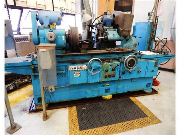 "18"" Swing 36"" Centers Cincinnati DE OD GRINDER, HYD TABLE, AUTO INFEED, SWING DOWN I.D., MAG CHUCK"