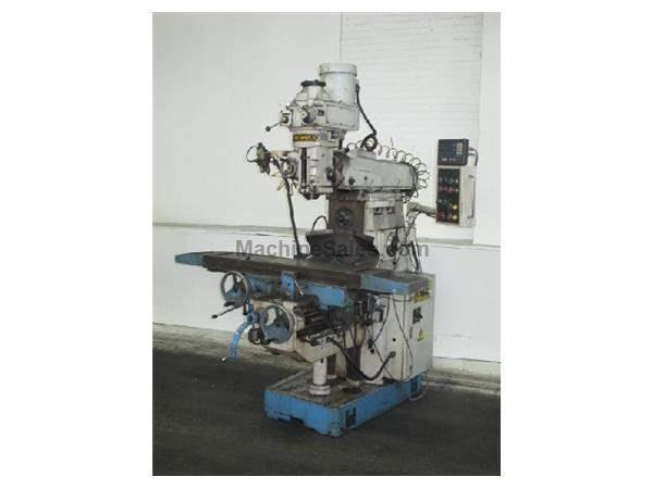 "51"" Table 5HP Spindle Promax YCM-2GS VERTICAL MILL, Vert. & Horiz. #40 Taper Spindles"