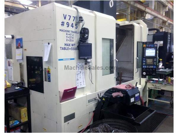 Makino V77 CNC Vertical Machining Cener