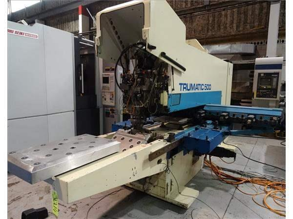 TRUMPF TRUMATIC TC500 CNC TURRET PUNCH