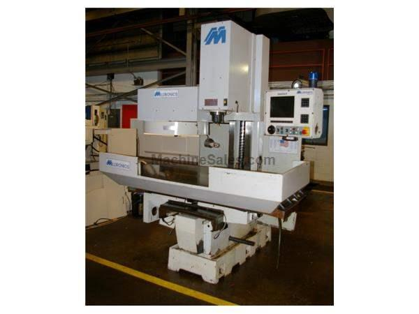 MILLTRONICS #RH20 CNC RIGID HEAD VERTICAL BED MILL