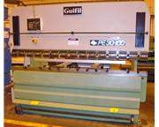 GUIFIL PE 30-100 110 Ton x 10' 2-Axis Upacting CNC Hydraulic Press Brak