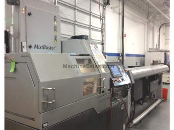Used 2005 Citizen L(5)20 VIII CNC Swiss Turning Center