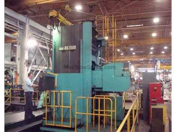 MITSUBISHI MAF-RS150B CNC FLOOR TYPE HORIZONTAL BORING MILL