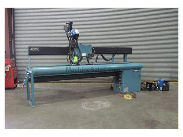 "JETLINE LWS-120 Seam Welder, 120"",, .020 to 3/8"", 8"" to 30&a"