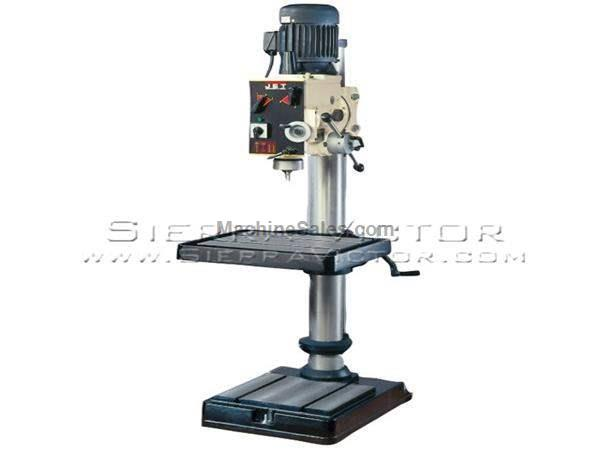 "20"" x 30-7/8"" JET® Geared Head Drill Press"