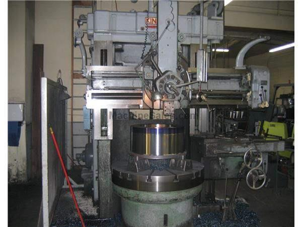 "52"" KING VERTICAL TURRET LATHE"