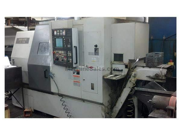 MORI SEIKI ZL-200SMC DUAL TURRET With LIVE TOOLING and SUB-SPINDLE