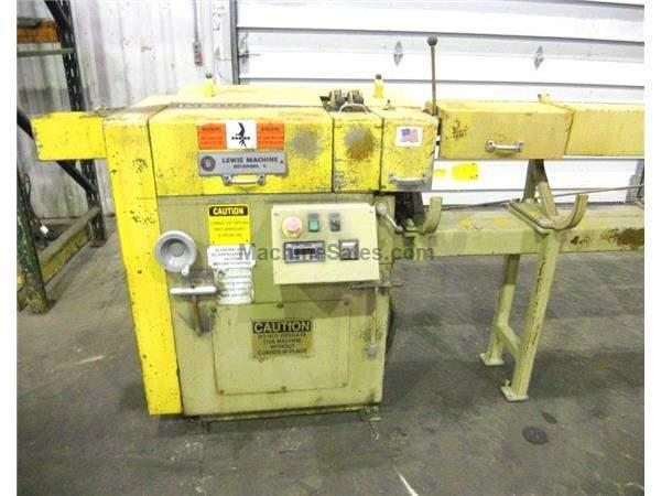 LEWIS 2SHV-HS WIRE STRAIGHTEN & CUT MACHINE