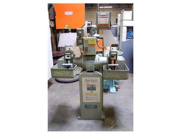 "12"" CINCINNATI DOUBLE END PEDESTAL GRINDER"