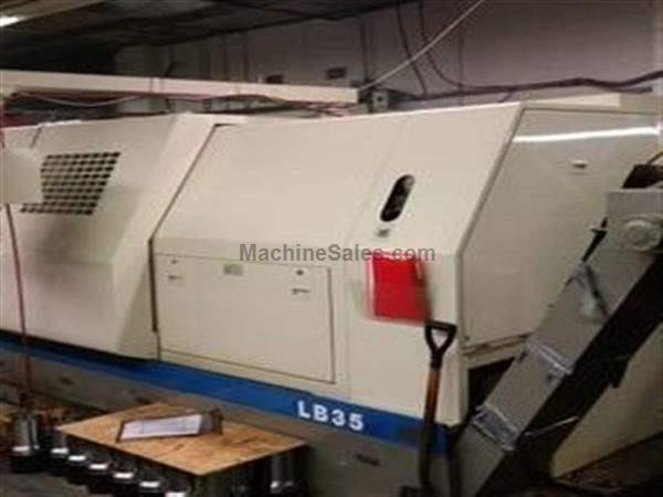"2000 Okuma LB-35IISBB/2000 ""Super Big Bore"" CNC Turning Center"