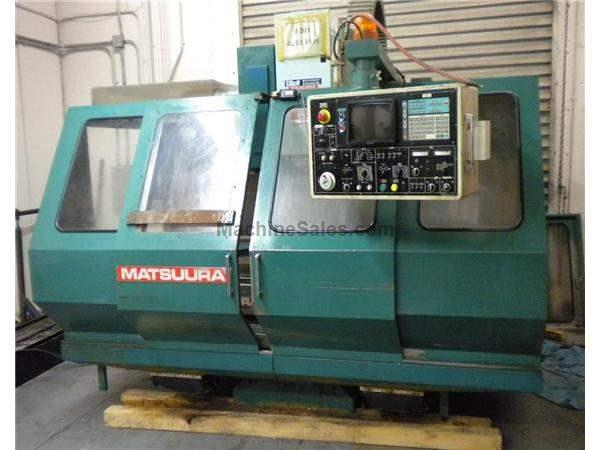 1990 Matsuura 760VX CNC Vertical Machining Center