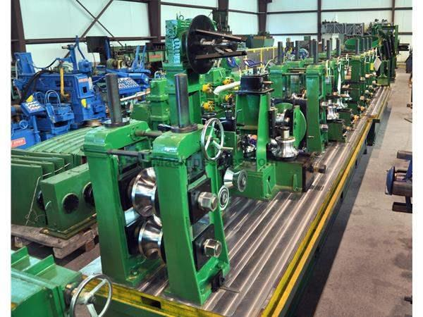 "COMPLETE LINE: 7-1/2"" (190mm) x .240"" (6mm) Tube Mill Line"