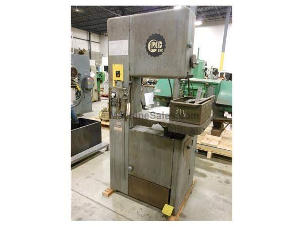 GROB MODEL NS-18 VERTICAL BANDSAW, 18""