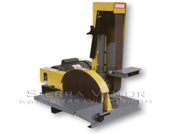 "10"" Disc / 2"" x 48"" Belt KALAMAZOO® Combination Sander"