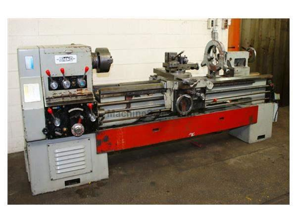 "22"" Swing 80"" Centers Satesa STB-RE ENGINE LATHE, Inch/Metric,Gap,3-Jaw Chuck,Steady,Toolpost,7.5 HP"