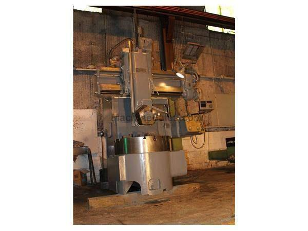 "36"" WEBSTER BENNETT VERTICAL TURRET LATHE"