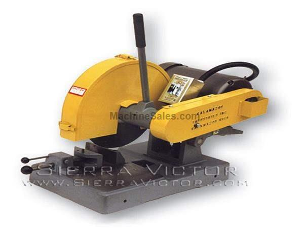 "14"" KALAMAZOO® Heavy Duty Bench Saws with Swivel Vise"