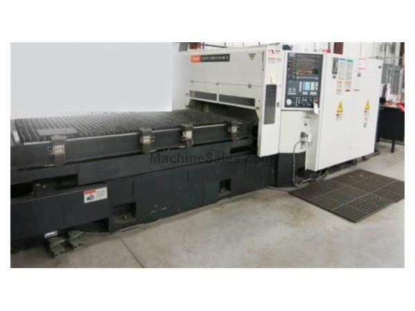 2500 Watt Mazak Super Turbo-X48 MkII Laser Cutting System