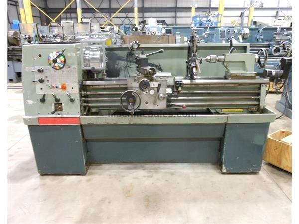"CLAUSING COLCHESTER 8031 GEARED HEAD STRAIGHT BED ENGINE LATHE, 15"" X"