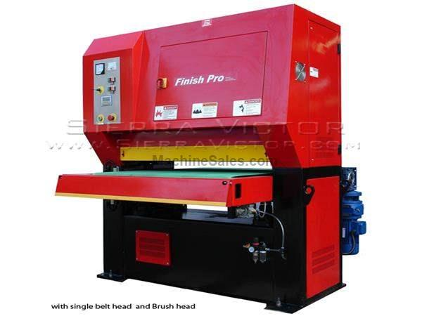 "25"" x 60"" FINISH PRO® Dry Finishing - Deburring Machine"
