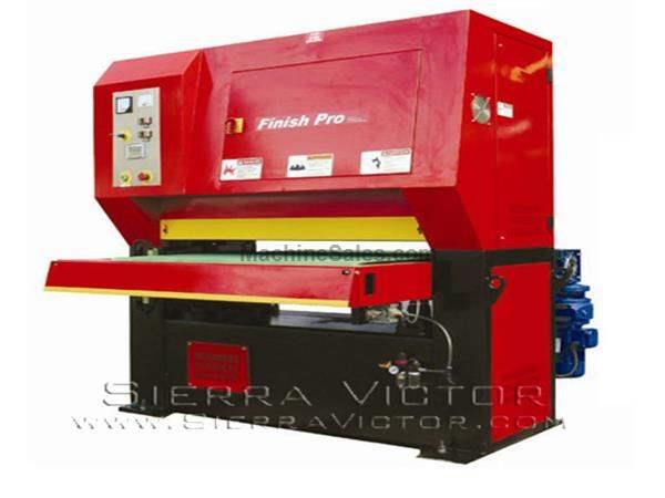 "52"" x 85"" FINISH PRO® Dry, Finishing - Deburring Machine"